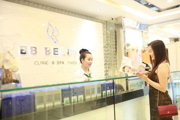 Ca sĩ Ngọc Anh tại BB Beaute - BB Thanh Mai