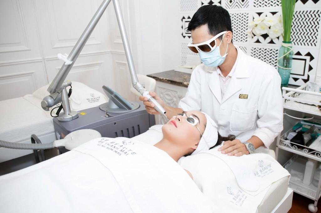 điều trị nám da tại BB Thanh mai
